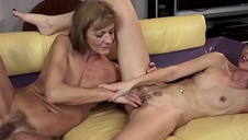Young Girl Fucking Senior Fellow For Pussy Creampie