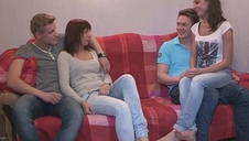 Youthful Sex Parties - Calling a friend for a sex party Kristina, Foxy Di